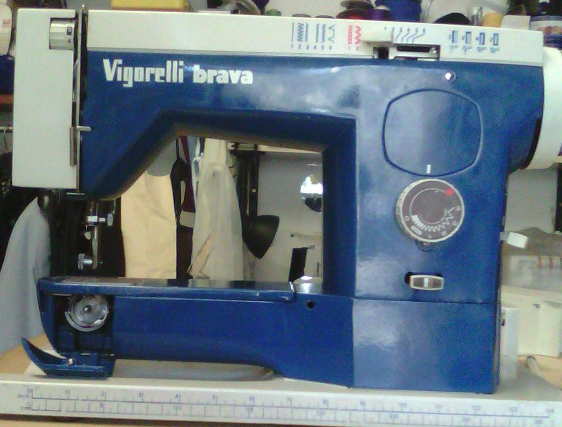 A ricambi vigorelli brava e215 16 for Ricambi macchina cucire singer