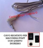 CAVO, CORDONE REOSTATO PFAFF ( CO/PF 02 )
