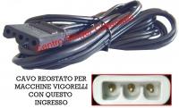 Cavo, cordone reostato Vigorelli ( CO/VI 03 )