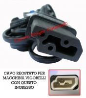 Cavo, cordone reostato Vigorelli ( CO/VI 01 )