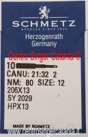 Ago Schmetz SY 2029 206X13 HPX13 Fin. 80/12