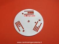 PLACCA AGO VIGORELLI ( PL/VI 08 ) 106, 107