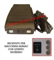 Reostato, pedale Saimac ( RE/SA 04 )