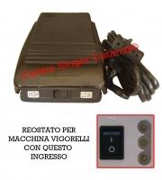 Reostato, pedale Vigorelli ( RE/VI 03 ) 452 Top 1, 3003, 3005