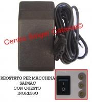 Reostato, pedale Saimac ( RE/SA T 01 ) 234D, 634D