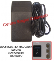 Reostato, pedale Janome ( RE/JA 08 ) tagliacuce ORIGINALE