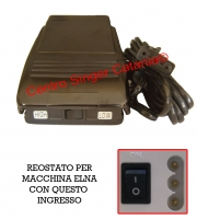 Reostato, pedale Elna ( RE/EL 02 )