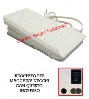 Reostato, pedale Necchi ( RE/NE 08 ) originale 21249