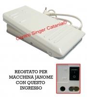 Reostato, pedale Janome ( RE/JA 02 ) 21249