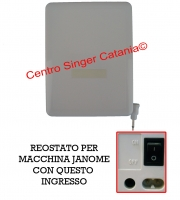 Reostato, pedale Janome ( RE/JA 07 ) 21371