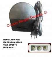 Reostato, pedale SILVERCREST ( RE/SC 02 C )