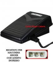 Reostato, pedale Bernina Bernette ( RE/BE 04 E ) elettronico