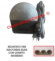 Reostato, pedale Necchi ( RE/NE 11 C )