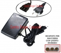 Reostato, pedale Necchi ( RE/NE 11 E )