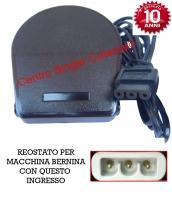 Reostato, pedale borletti ( RE/BO 08 ) 18 Stitch,204 ,8600