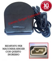 Reostato, pedale Vigorelli ( RE/VI 06 F ) qualità japan