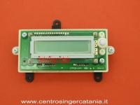 SCHEDA JANOME ( SE/JA 03 ) DISPLAY, SCHERMO LCD 6125QC