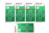 SPOLINA SINGER ( SP/SI 03 ) ORIGINALE BLISTER 4PZ X 5